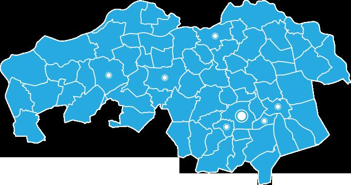 map participerende ziekenhuizen